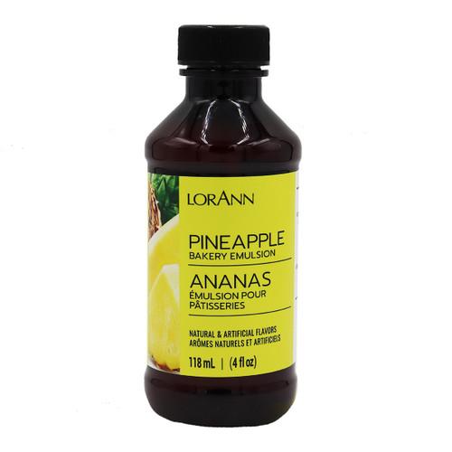 LorAnn - Pineapple Bakery Emulsion - 4 oz