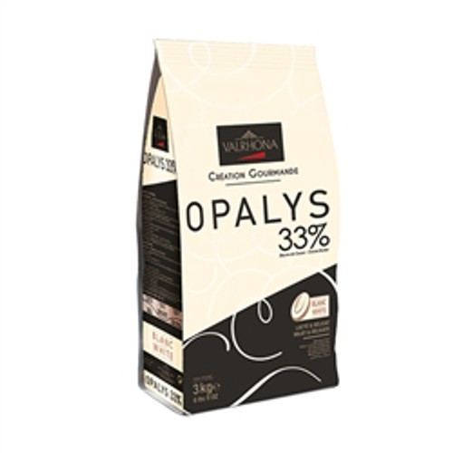 Chocolate - White 33% - Opalys Fèves (Discs) - Valrhona