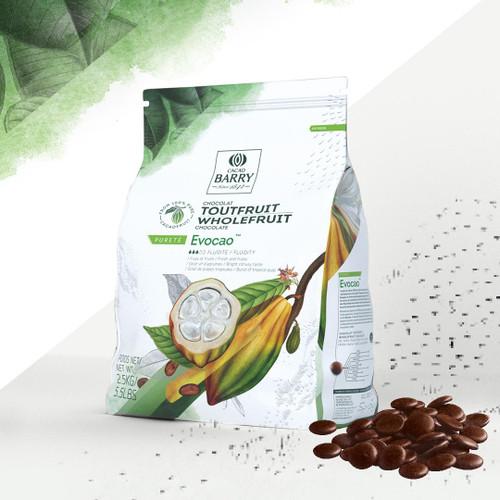 Chocolate - Dark 76% - WholeFruit - 2.5 kg (5.5 lbs) - Cacao Barry