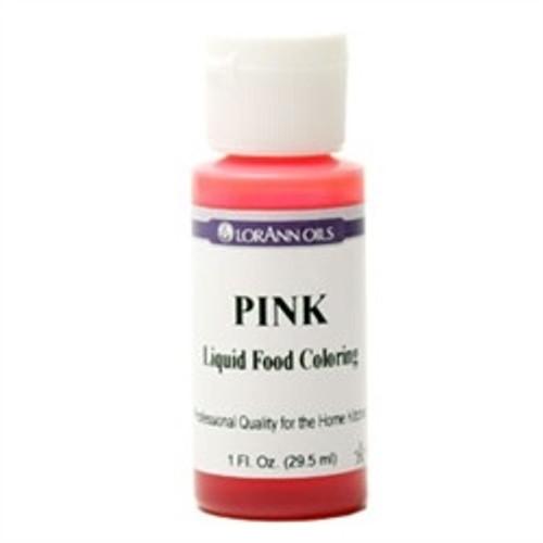 Pink Food Colouring - Liquid - 3.8 L / 1 Gallon - LorAnn
