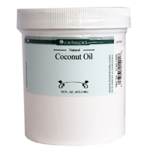 Coconut Oil - 4 oz - LorAnn