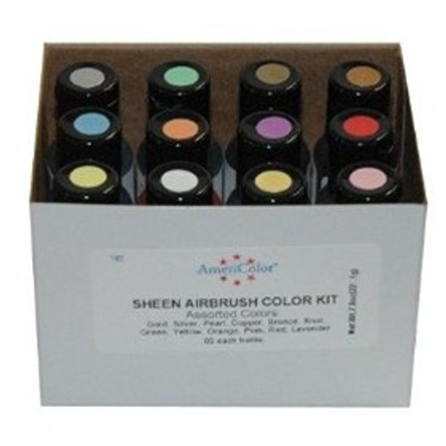 Americolor Airbrush - Assorted Sheen Colour Kit