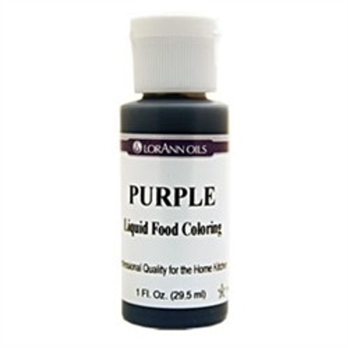 Purple Food Colouring - Liquid - 3.8 L / 1 Gallon - LorAnn