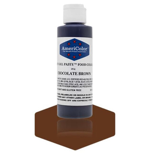 Americolor Soft Gel Paste - Chocolate Brown