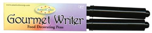 Gourmet Writer Food Decorating Pens - 2 Black Marker Set
