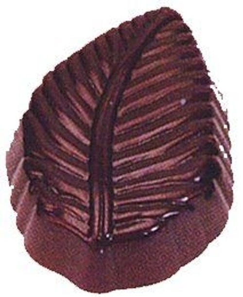 Leaf, Veined - 15 pc per tray - Polycarbonate Mold - Fat Daddio's