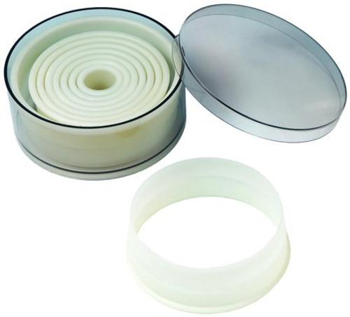 Round Cutter Set (Nylon / 9 piece) -- Fat Daddio's