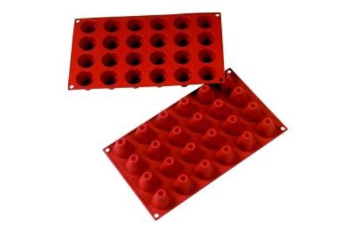 Volcano - 0.54 oz - 24 pc per tray - Silicone - Fat Daddio's