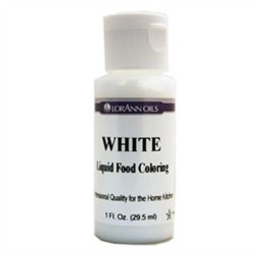 White Food Colouring - Liquid - 118 mL/4 oz - LorAnn