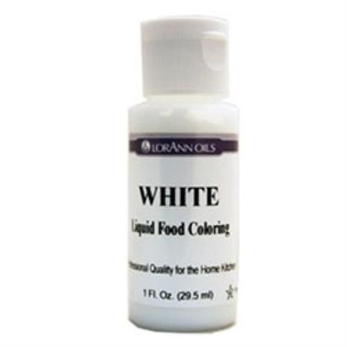 White Food Colouring - Liquid - 3.8 L / 1 Gallon - LorAnn