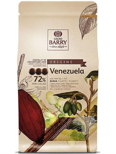 """Chocolate - Dark 72% - Venezuela """"Origine Rare"""" - Cacao Barry"""