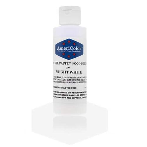Americolor Soft Gel Paste - Bright White