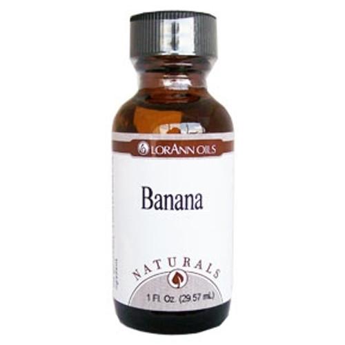 Natural Banana Flavour - LorAnn - 1 oz