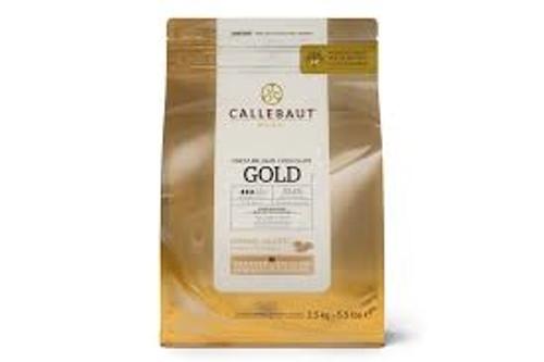 Chocolate - 30.4% -GOLD - 2.5 kg (5.5 lbs) - Callebaut
