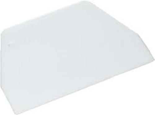 """Plastic Dough Cutter - 2.25 x 4.875"""" wide - Fat Daddio's"""