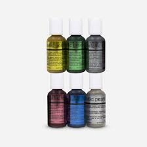 Airbrush - Metallic Colour Kit - Chefmaster