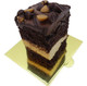Pastry Board - Gold Square with Handle--50 pieces