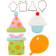 Cutie Cupcake- Birthday Set  (Set of 4)--OUT OF STOCK