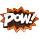 POW! Superhero Lingo - Plastic Chocolate Mold