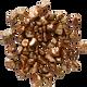 Bronze Metallic Flakes  (MILK) 600 g --Mona Lisa (Callebaut)