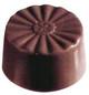 Round, Scalloped - 24 pc per tray - Polycarbonate Mold - Fat Daddio's