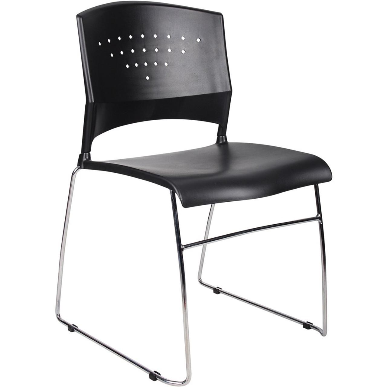 Stadium Stacking Chair Black Ys42
