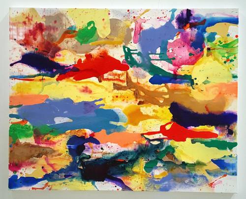 Painting #1906 - Lagoons in wonderland_Yoon Joo_2019_Acrylic, ink on canvas