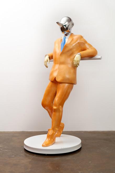 I am Liar21-6_Kim Bongsoo_2021_sculpture_Stainless steel
