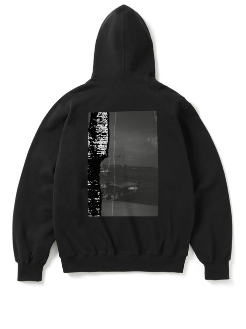 Limited edition Hoodie printed with Burn by Yooyeon