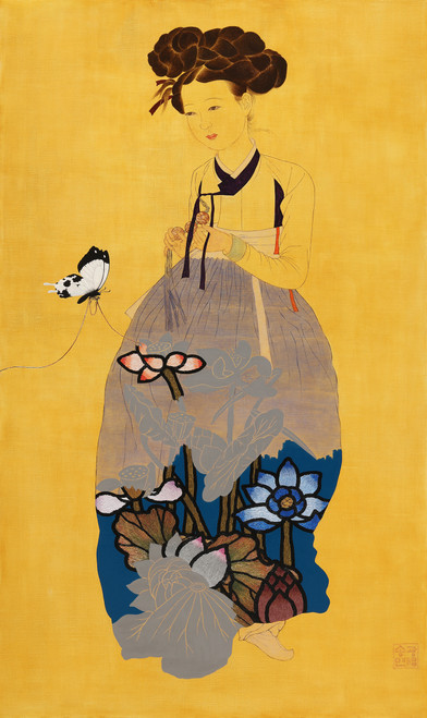 Butterfly's Dream_Song Kwangyeon_2021_Acrylic on Canvas