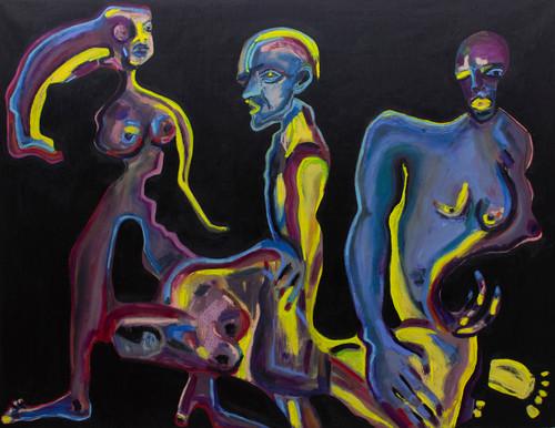 Whether good or bad_Anna Sualowska_2021_Oil on canvas