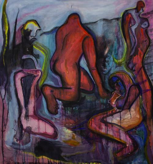 Carapace_Anna Sualowska_2020_Oil on canvas