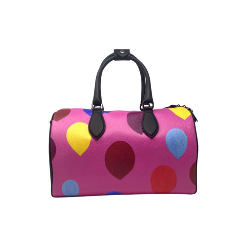 Limited edition Mini Duffle Bag printed with Untitled by Ohnim