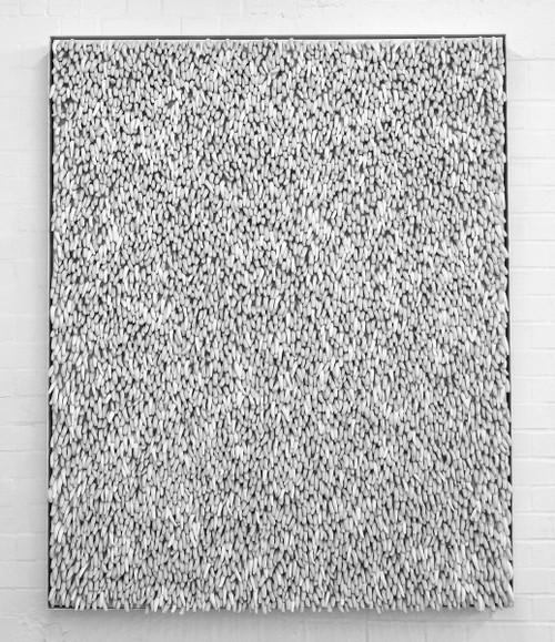 Untitled II_Andreea Ionascu_2015_FPorcelain on canvas