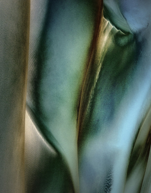 Blue Lily by M(M) Boguszak. 2020. Photo under acrylic glass, aluminium floating frame. Limited edition 2/3, 2 AP. Abstract.