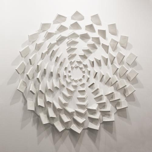 Biblio Vortex (Dark Grey) by Han A Ram. 2021. Ceramics. Contemporary.