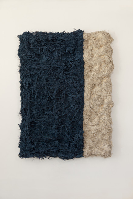 The History of Forest 21m08 by Myung Gyung You. 2021. Fibers, Color and Mix Media.
