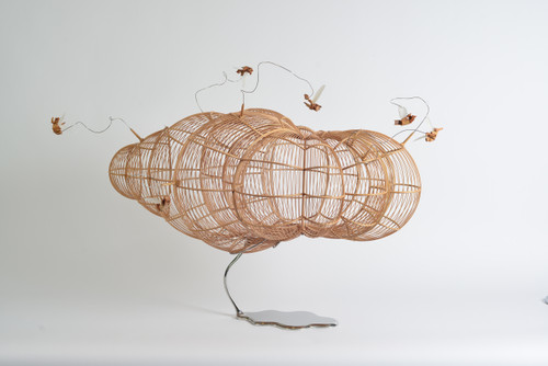 Floating Cloud by Kum Chi Keung. 2021. Mixed Media.