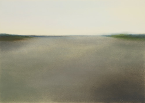 Mental Landscape #12 by Natalia Frolova. 2018. Pastel on paper.