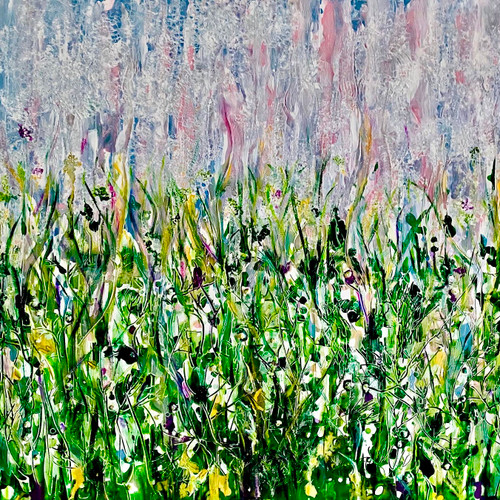 BABY'S BREATH by Rachael Brown. 2020. Acrylic on canvas.