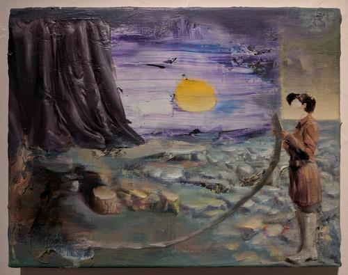 Jill by Jaehong Ahn 2019. Oil and Acrylic on Canvas