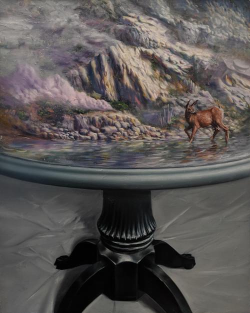 Border On by Jaehong Ahn 2019. Oil and Acrylic on Canvas