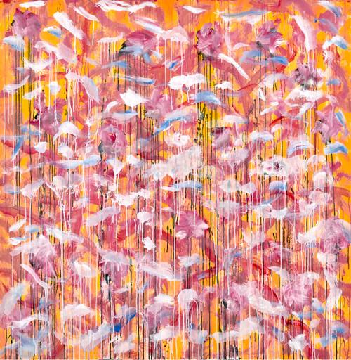 Untitled V by Du Nam Choi. 2019. Oil on canvas
