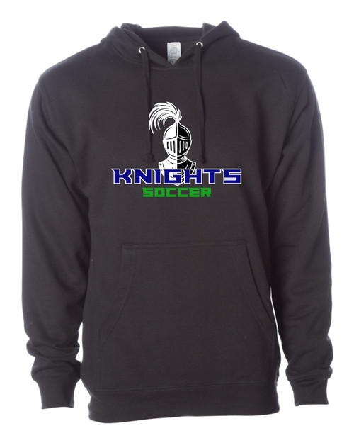 Knights Soccer Midweight Hoodie