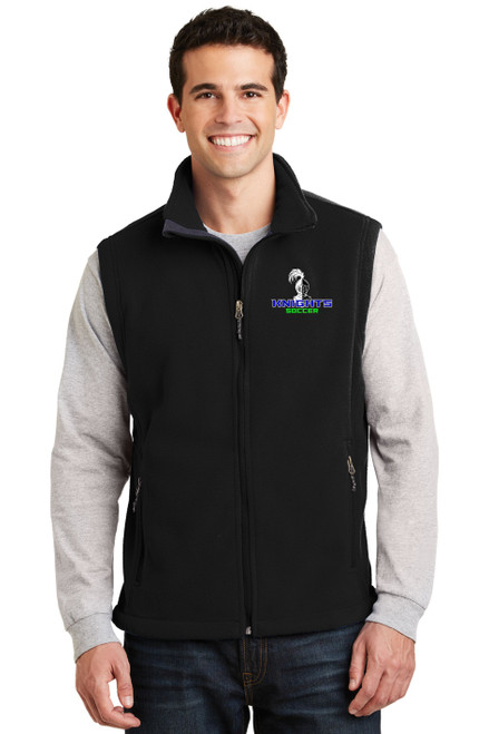Knights Soccer Fleece Vest