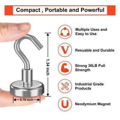 Neodymium Cup & Hook Magnets