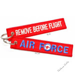 AIR FORCE Remove Before Flight Key Tag