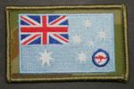 RAAF Ensign on DPCU  75mm x 55mm