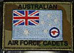 CADETS RAAF ENSIGN on DPCU 75mm x 55mm