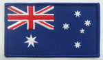 ANF - Aust. Flag 95mm x 55mm With Velcro Backing